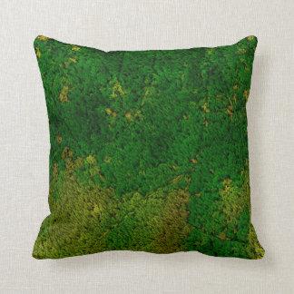 estructura de la alfombra, verde almohada