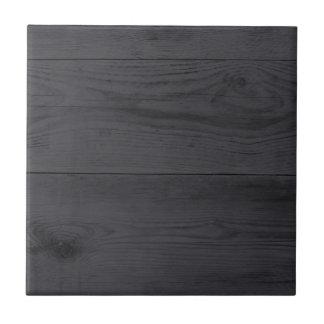 Estructura de madera de antracita azulejo cuadrado pequeño