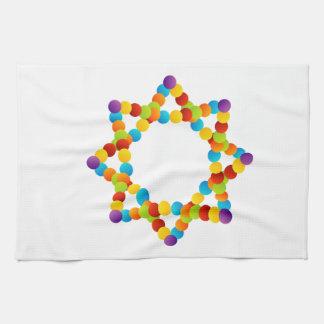 Estructura del átomo toalla de cocina