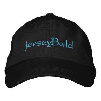 estructura del jersey gorra de béisbol