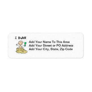 Estructura del muchacho I Etiquetas De Remite