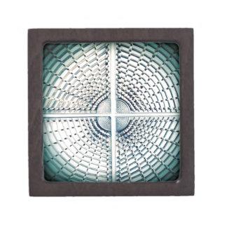 Estructura extranjera del metallik caja de joyas de calidad