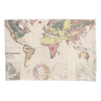 Estructura geológica del globo