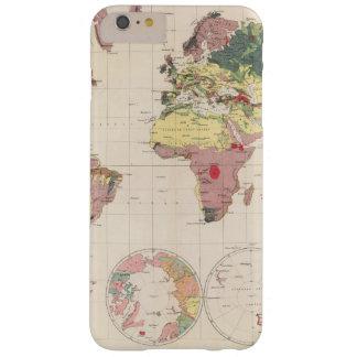 Estructura geológica del globo funda de iPhone 6 plus barely there
