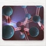 Estructura molecular del cafeína mouse pads