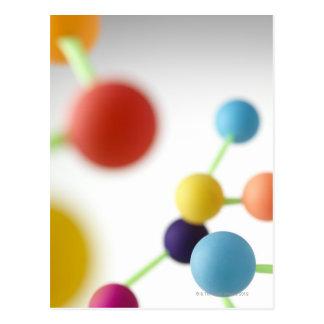 Estructura molecular postales