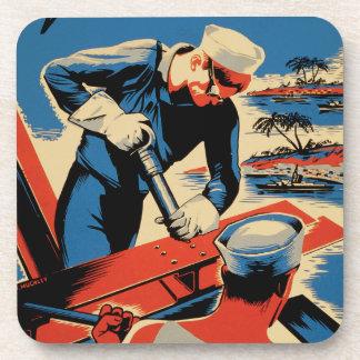 ¡Estructura para su marina de guerra! Posavasos