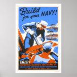 ¡Estructura para su marina de guerra! Poster