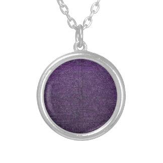 estructura tejida, púrpura grimpola personalizada