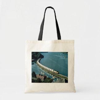 Estuario de Fowey del tren de la arcilla de China  Bolsa De Mano