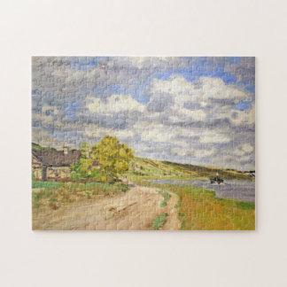 Estuary of the Seine Monet Fine Art Puzzle