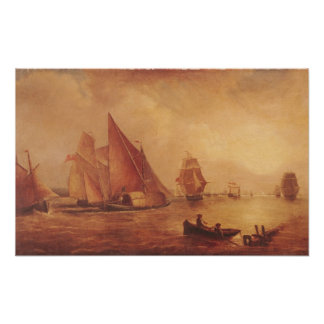 Estuary of the Thames and the Medway Poster