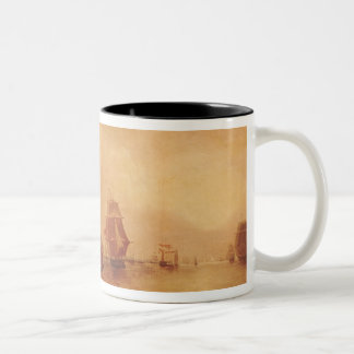 Estuary of the Thames and the Medway Two-Tone Coffee Mug