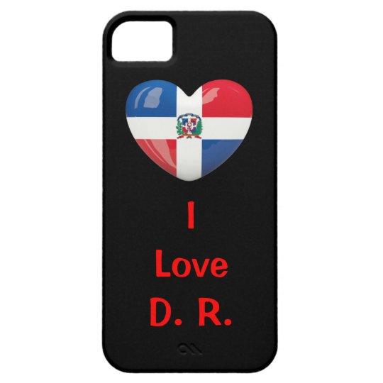 Estuche con sabor Dominicano para iPhone 5 iPhone SE/5/5s Case
