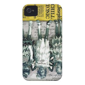 Estuche rígido brillante del iPhone 4/4S de los iPhone 4 Case-Mate Funda