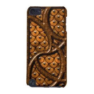 Estuche rígido de iPod del modelo de madera y del