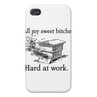 estuche rígido de la apicultura del iPhone 4 iPhone 4 Cárcasa