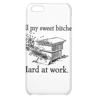 estuche rígido de la apicultura del iPhone 4
