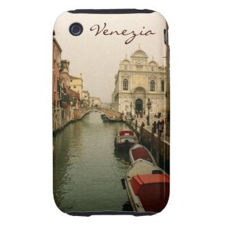 Estuche rígido del canal 3G/3Gs de Venecia Tough iPhone 3 Cárcasas