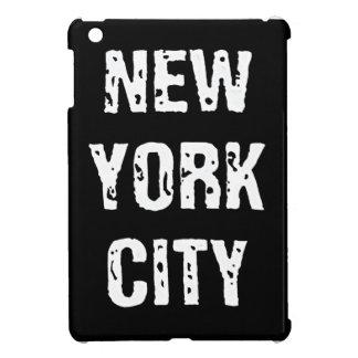 Estuche rígido del iPad de New York City mini
