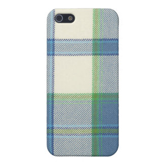 Estuche rígido del iPhone 4/4S del tartán del azul iPhone 5 Protector