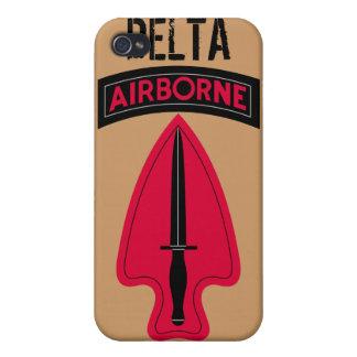 Estuche rígido del iPhone 4 de la fuerza de delta iPhone 4 Coberturas