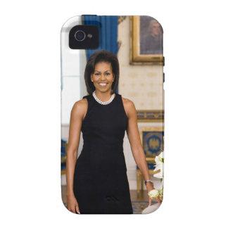 Estuche rígido del iPhone 4 de Michelle Obama Vibe iPhone 4 Carcasa