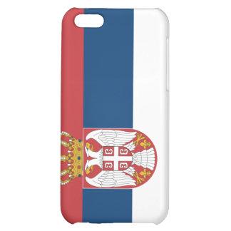 Estuche rígido del iPhone 4 de Serbia