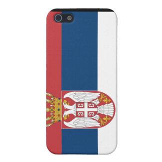 Estuche rígido del iPhone 4 de Serbia iPhone 5 Carcasas