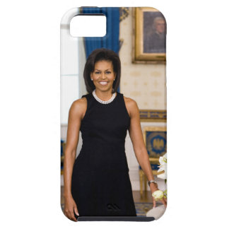 Estuche rígido del iPhone 5 de Michelle Obama iPhone 5 Funda