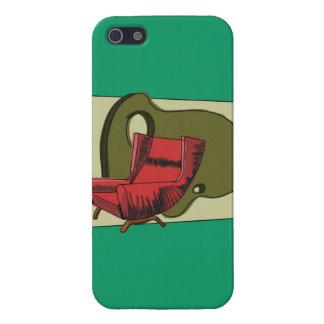 Estuche rígido del iphone 5 del salón 1 del MCM br iPhone 5 Fundas