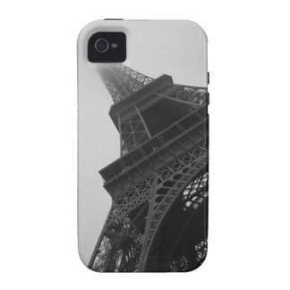 Estuche rígido del iPhone de la torre Eiffel Case-Mate iPhone 4 Fundas