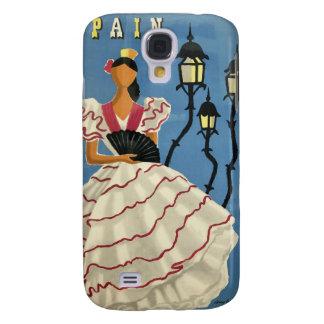 Estuches de viaje del vintage de ESPAÑA Samsung Galaxy S4 Cover