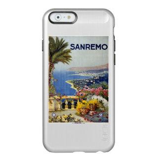 Estuches de viaje del vintage de Sanremo Italia Funda Para iPhone 6 Plus Incipio Feather Shine