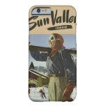 Estuches de viaje del vintage de Sun Valley, Idaho Funda Para iPhone 6 Barely There