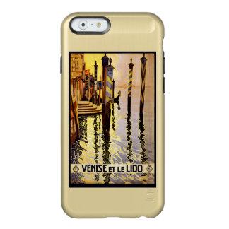 Estuches de viaje del vintage de Venezia (Venecia) Funda Para iPhone 6 Plus Incipio Feather Shine