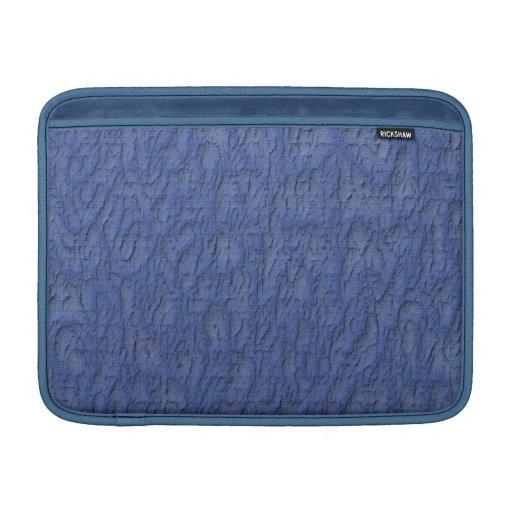 Estuco azul fundas para macbook air