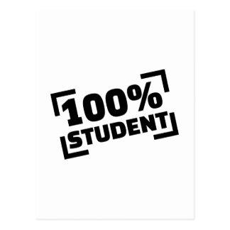Estudiante 100% postal