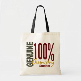Estudiante auténtico de la química bolsas