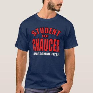 Estudiante de Chaucer Playera