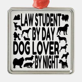 Estudiante de Derecho del amante del perro Ornato