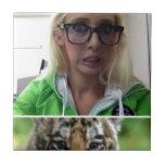 Estudiante de Eco del tigre Azulejos Cerámicos