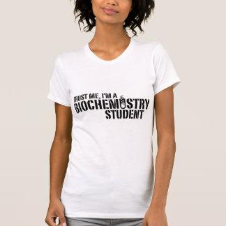 Estudiante de la bioquímica camisetas