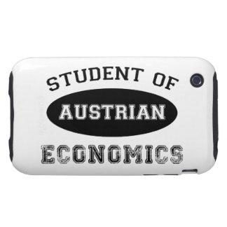 Estudiante de la economía austríaca iPhone 3 tough carcasa