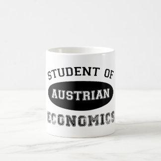 Estudiante de la economía austríaca taza clásica
