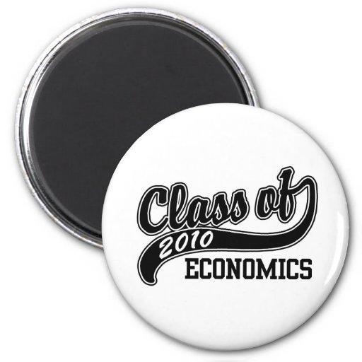 Estudiante de la economía imán redondo 5 cm