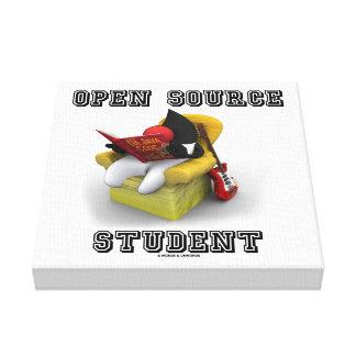 Estudiante de Open Source duque Java Book Comfy C Impresiones En Lienzo Estiradas