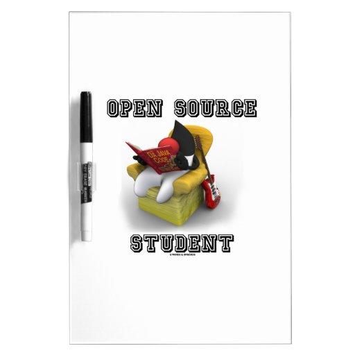 Estudiante de Open Source (duque Java Book Comfy C Pizarra