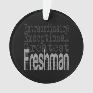 Estudiante de primer año Extraordinaire