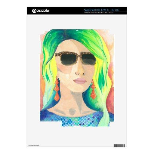 Estudiante de primer año pegatinas skins para iPad 3